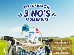 Vinamilk 100% Fresh Milk, A Gift of Health From Nature